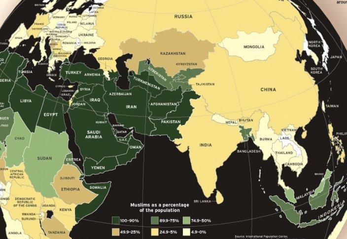 Численность мусульман в мире к 2050 году сравняется с численностью христиан